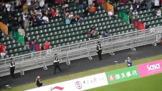 2009東亞運動會-  男子足球決賽日本對香港 1:1 扳平的入球