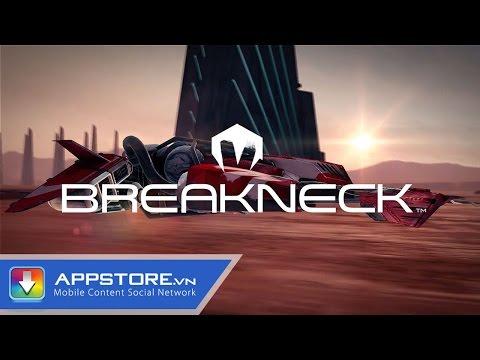 [iOS Game] Breakneck - Siêu cơ vượt không gian - AppStoreVn