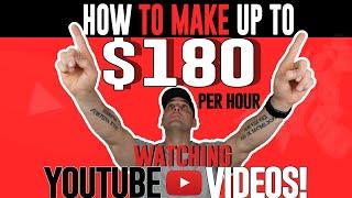 Make Money Online Watching YouTube Videos!