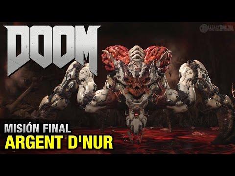 DOOM (2016) - Misión Final - Argent D'Nur (Coleccionables + Secretos - Español 1080p 60fps)