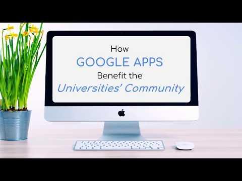 How Google Apps Benefit The Universities' Communities