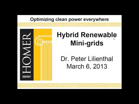 Hybrid Renewable Mini-Grids