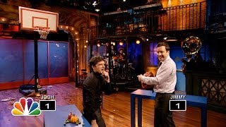 Thanksgiving Object Shootout with Josh Hutcherson (Late Night with Jimmy Fallon)