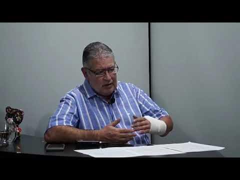 """Rubén Almara entrevistando a Fabio Jurajuria, en el programa """"ESTO NO ES TV"""""""