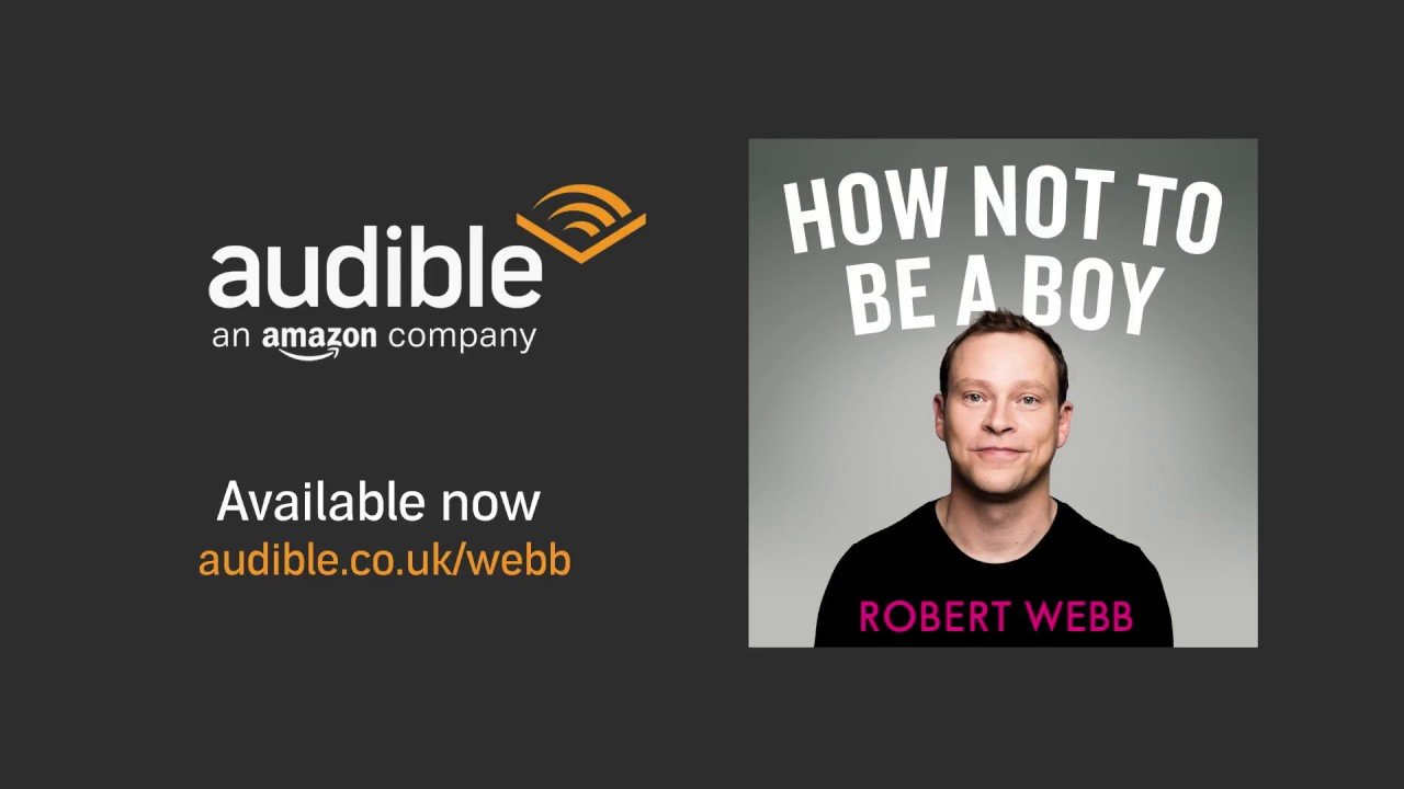 Image result for robert webb how not to be a boy audiobook