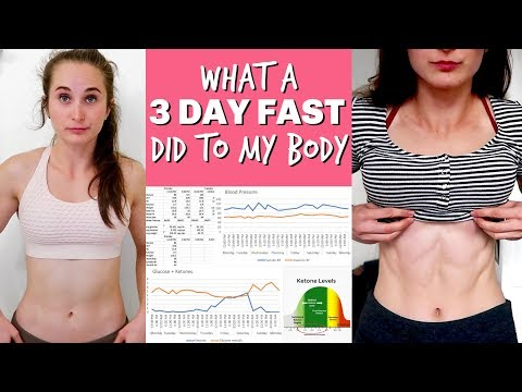 I TRIED WATER FASTING FOR 3 DAYS | What Happened To My Body - Ketones, Glucose, Blood Pressure, Etc.