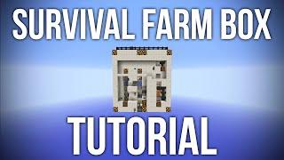 Minecraft: Survival Farm Box Tutorial - 9 Automatic Farms