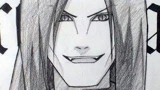 как рисовать аниме наруто видео