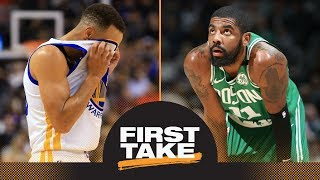 First Take debates impact of Steph Curry and Kyrie Irving injuries on playoffs   First Take   ESPN
