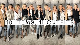 10 ITEMS, 11 DIFFERENT OUTFITS