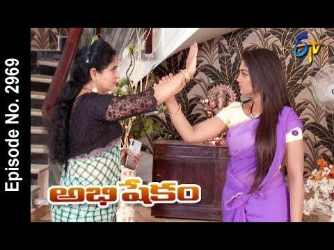 Abhishekam   23rd July 2018   Full Episode No 2969   ETV Telugu