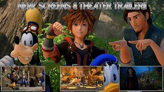 NEW Kingdom Hearts 3 Screens and a Trailer *NEW FOOTAGE   Overview