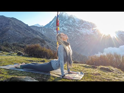 Full Body Yoga Workout ♥ Weight Loss & Toning Mountain Bootcamp | 4000m