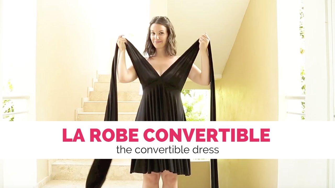 0fd1eb687b6 LRDS présente  La robe convertible - the convertible dress - YouTube