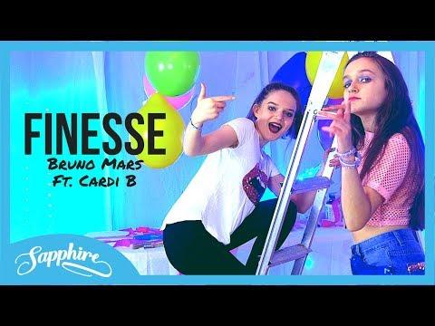 Finesse - Bruno Mars Feat. Cardi B | Sapphire & Skye Cover