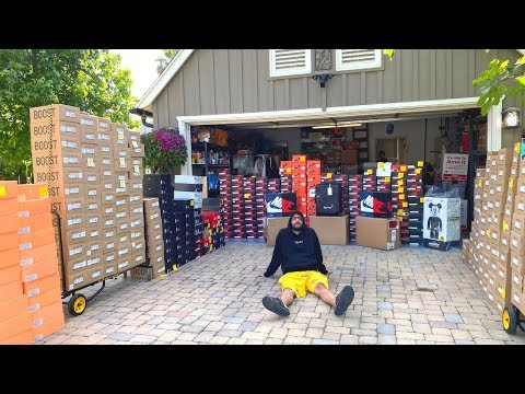 BUYING $200,000 WORTH OF SNEAKERS FROM A MILLIONAIRE!!!!