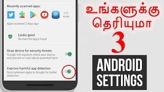 Hidden Android Settings Tamil Tutorials World_HD