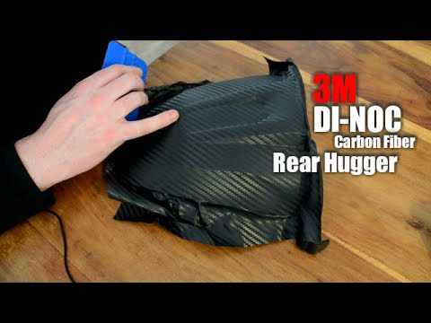 How To Use 3m Di Noc Carbon Fiber Vinyl Youtube