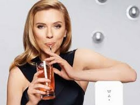 Scarlett Johansson Stands By SodaStream