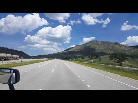 Rolling into Casper, Wyoming on Highway 220 June 10, 2016