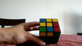 rubiks cube solution explanation instruction step by step equations and formula part 2 of 3