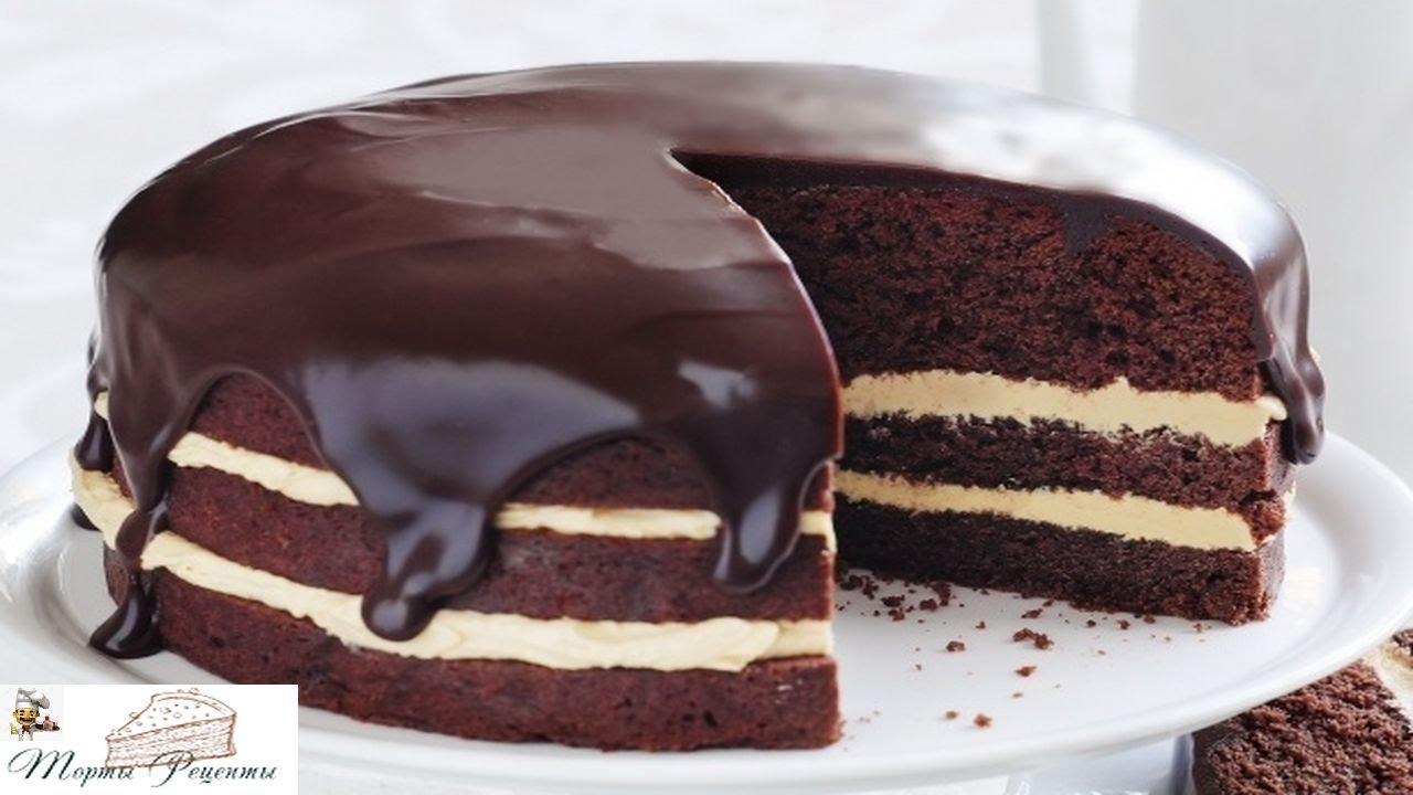 Негр торт с вареньем на кефире рецепт пошагово