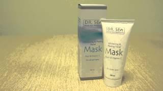 Отбеливающая маска пилинг для лица с жемчугом и витамином C