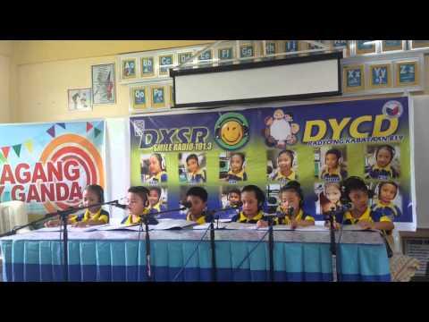 Radio broadcasting kids