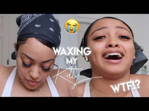 I GAVE MYSELF A BRAZILIAN WAX AT HOME | DIY QUARANTINE LIFE