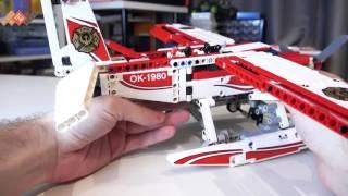 Обзор Lego Technic Fire Plane - Лего Техник Пожарный самолет / в продаже на TOY RU(Купить набор Lego Technic Пожарный самолет можно по ссылке http://www.toy.ru/catalog/tekhnik/lego_technic_42040_lego_tekhnik_pozharnyy_samolet/ ..., 2015-10-29T12:38:42.000Z)