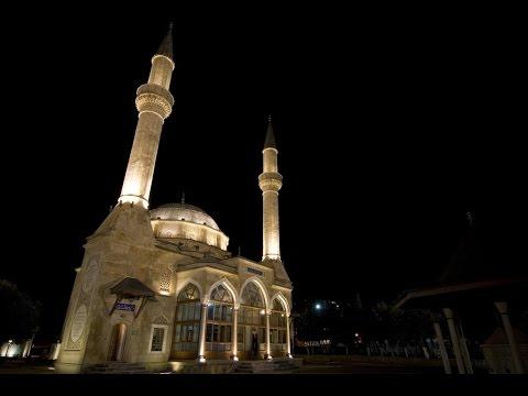 Turkish Mosque in Baku - Azerbaijan   Islamic Videos