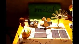 Painel Solar 5Volts 1Wats  -  FreeLed