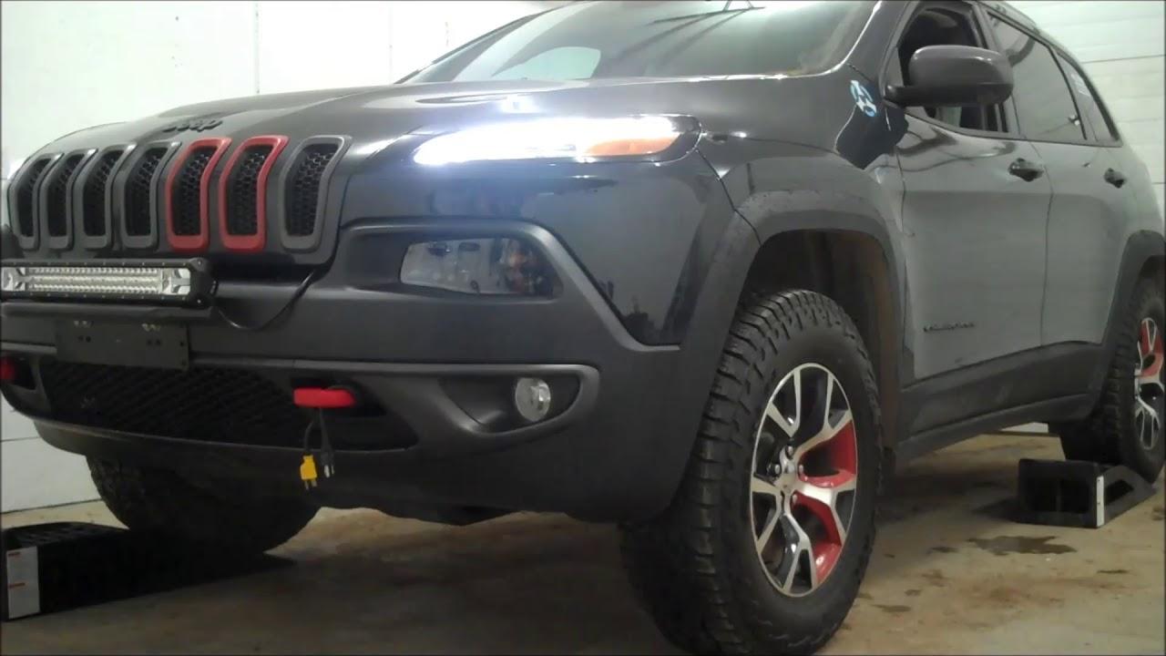 Jeep cherokee trailhawk sport mode