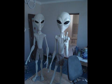 Сделать своими руками костюм инопланетянина своими руками