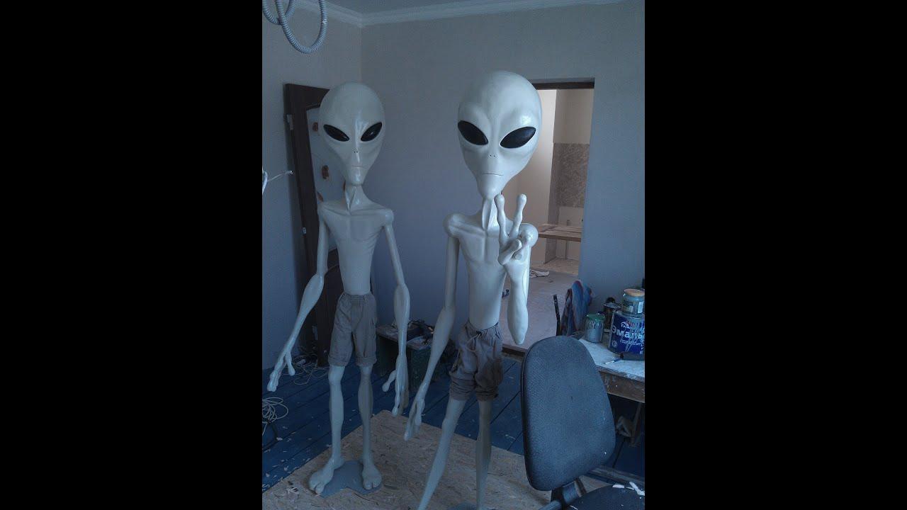 Инопланетянин сделать своими руками