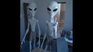 Инопланетяне (своими руками)