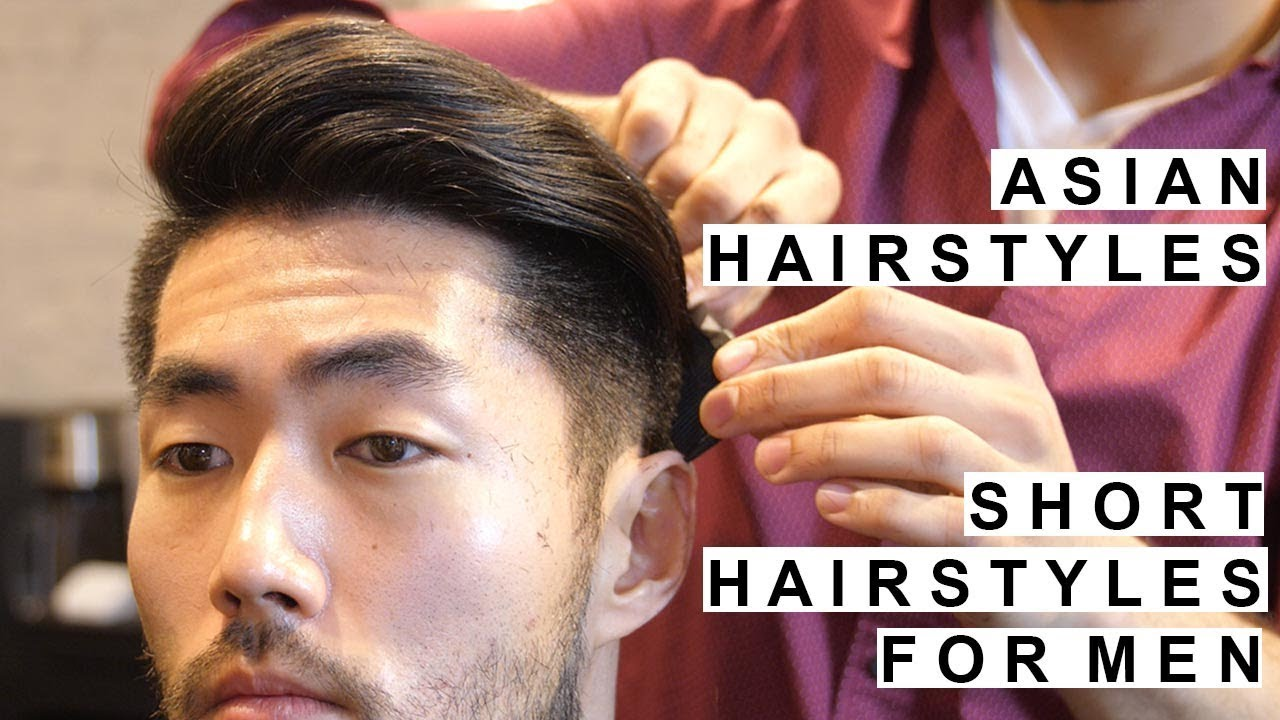 popular asian hairstyles | disconnected undercut & modern quiff | short hairstyles for men