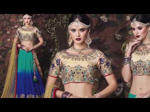 image of Wedding Lehenga Sarees youtube video 3