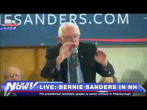 FNN: Bernie Sanders Speaks in Peterborough, New Hampshire