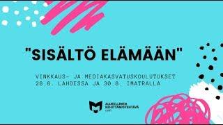 Merja Taavila: Ammattikoulun lukudiplomi Lahdessa
