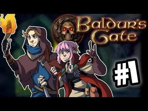 Baldur's Gate - Gather Your Party - PART 1 - Commander Holly Plays - Feat. PROJARED
