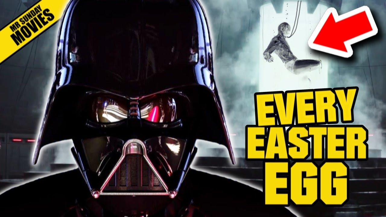 ROGUE ONE: A STAR WARS STORY All Easter Eggs & References - YouTube