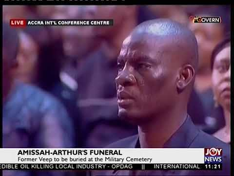 Funeral Service Of The Late Former Vice President OF Ghana - JoyNews (27-7-18)