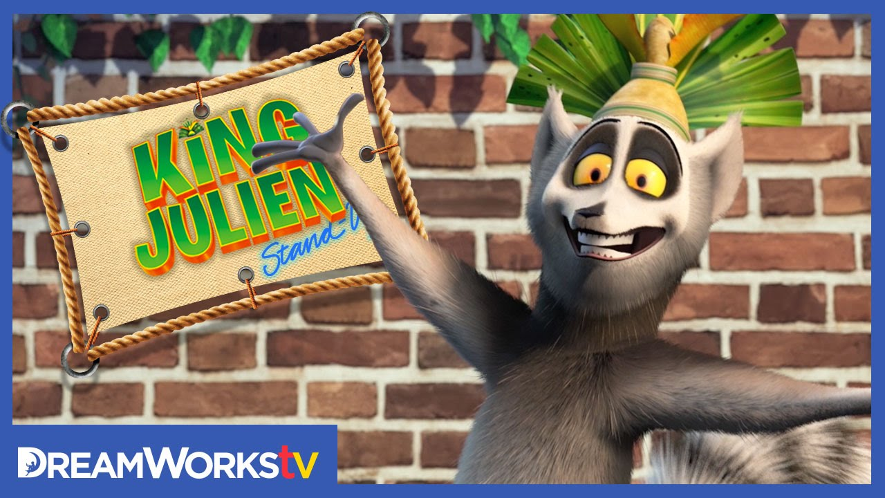 Awkward Improv Comedy | KING JULIEN STAND UP - YouTube