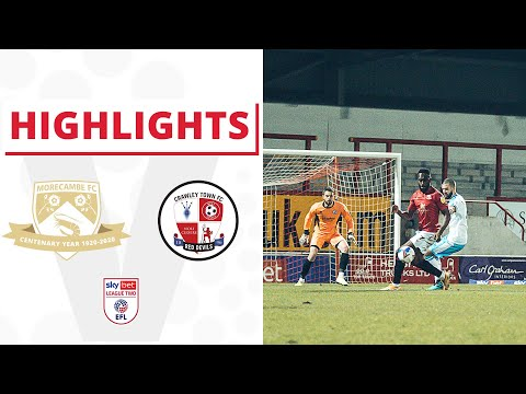 Morecambe Crawley Town Goals And Highlights