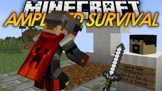 Minecraft: Amplified HARDCORE Survival - RIP AntVenom (5)