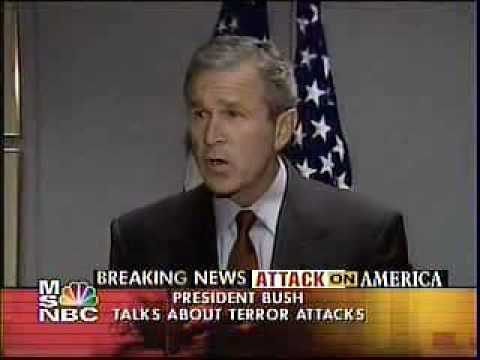 President Bush's Second Speech on 9/11 from Barksdale