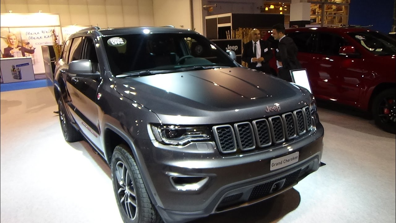 2017 Jeep Grand Cherokee Trailhawk Exterior And Interior