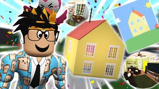 FIXING UP PEPPA PIG'S HOUSE in bloxburg... is it better snort