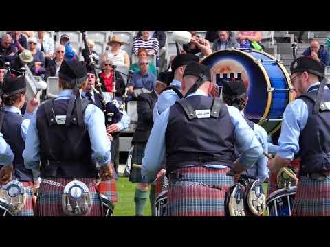 World Pipe band Championships 2017 - Shotts & Dykehead Caledonia Medley - [4K/UHD]